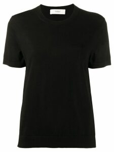 Pringle of Scotland crew-neck box cut T-shirt - Black