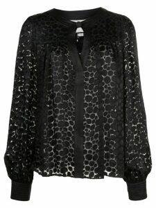 Alexis Rhida shape print blouse - Black