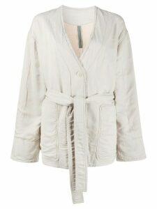 Raquel Allegra Quilted Sateen jacket - White