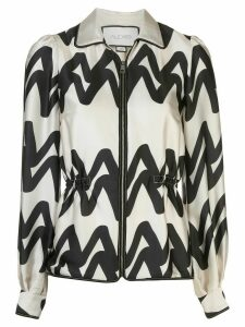 Alexis Kacey zipped blouse - White