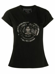 Ermanno Scervino embellished logo T-shirt - Black