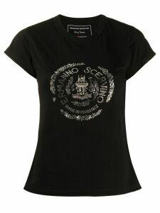 Ermanno Scervino embellished logo T-shirt - Black