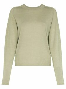 Carcel knitted crew neck jumper - Green