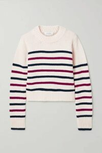 La Ligne - Mini Marin Striped Wool And Cashmere-blend Sweater - Ivory