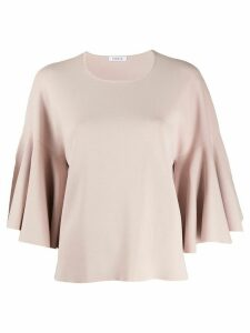 P.A.R.O.S.H. flared sleeve top - PINK