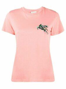 Etro logo detail T-shirt - PINK