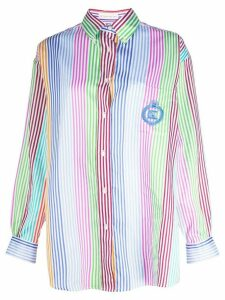 Etro rainbow stripe shirt - White