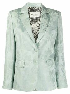 Etro floral single breasted blazer - Blue