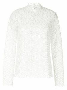 Macgraw embroidered Majestic blouse - White
