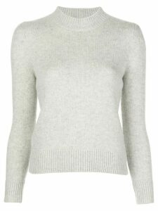 Co ribbed detail cashmere jumper - NEUTRALS