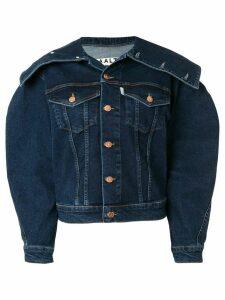 Aalto structured denim jacket - Blue