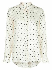 Adam Lippes polka dot print shirt - NEUTRALS