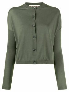 Marni cropped lightweight cardigan - Green