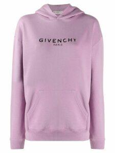 Givenchy vintage printed logo hoodie - PINK