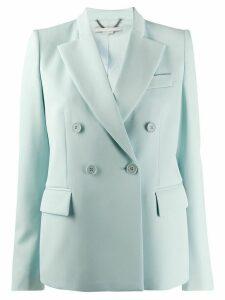 Stella McCartney double-breasted peaked lapel blazer - Blue