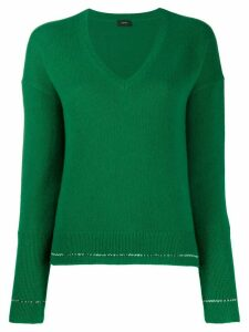 Joseph cashmere long-sleeve jumper - Green