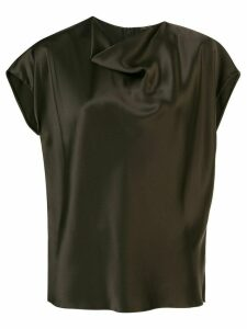 Adam Lippes cowl neck blouse - Green