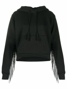 AMIRI tassel detailed hoodie - Black