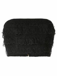 Bambah cropped lace top - Black
