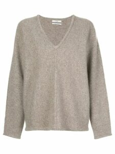 Co V-neck cashmere jumper - Brown