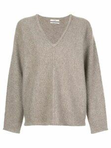 Co V-neck cashmere jumper - Brown