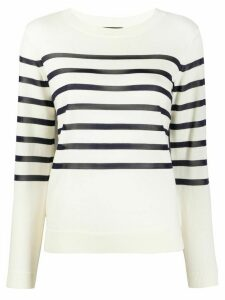 A.P.C. Cordelia striped slim-fit jumper - NEUTRALS