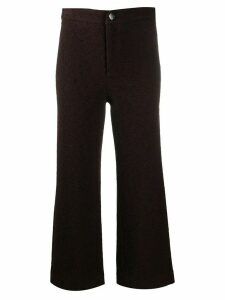 Roseanna Aston Gang distressed effect trousers - Brown