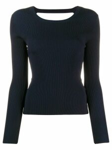 P.A.R.O.S.H. Regina fitted jumper - Blue