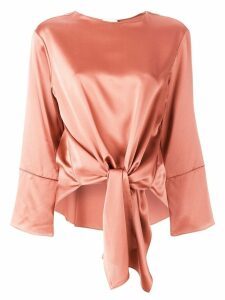 Cinq A Sept solid Hayden top - ORANGE