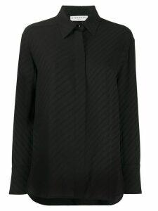 Givenchy silk chain shirt - Black