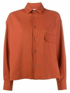 Stephan Schneider Conifers shirt - ORANGE