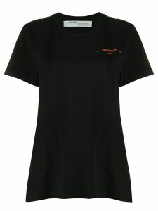 Off-White embroidered logo T-shirt - Black