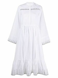See By Chloé embroidered detail dress - White
