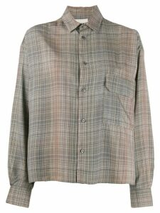 Stephan Schneider plaid Conifers shirt - NEUTRALS