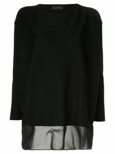 Anteprima Essenziale jumper - Black