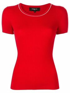 Paule Ka round neck jumper - Red