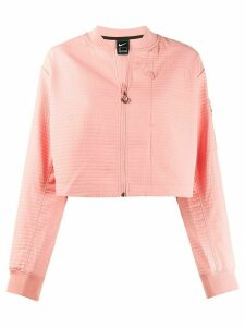 Nike cropped bomber jacket - PINK
