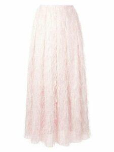 Bambah flared high-waisted skirt - PINK
