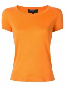 Paule Ka round neck jumper - ORANGE