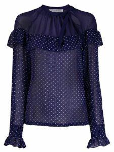 Philosophy Di Lorenzo Serafini polka dot print blouse - Blue