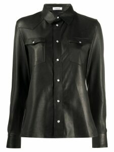 P.A.R.O.S.H. button-down shirt - Black