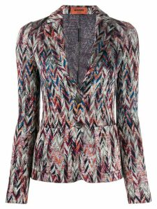 Missoni intarsia cardigan - Blue