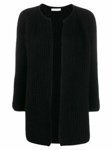 Liska slim-fit cardigan - Black