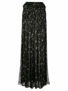 AMIRI floral print maxi skirt - Black