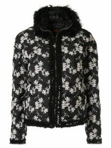 Giambattista Valli floral padded jacket - Black