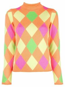 Opening Ceremony patterned mock neck pullover - Multicolour