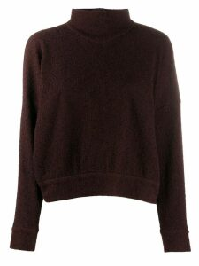 Roseanna Aston distressed effect jumper - Brown