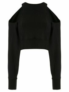 Ground Zero cold shoulder sweater - Black
