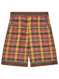 Gucci checked tweed shorts - Multicolour