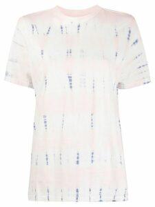 Isabel Marant Étoile Dena tie-dye cotton T-shirt - White